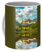 Reflection Of Maroon Bells Coffee Mug
