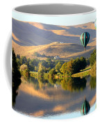 Reflection Of Prosser Hills Coffee Mug