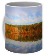 Reflection Of The Fall Coffee Mug