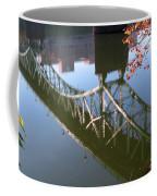 Reflection Of The Gay Street Bridge Coffee Mug