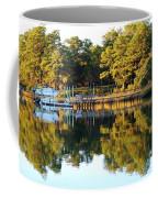 Reflection Of Trees Coffee Mug