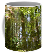 Reflection Of Woods Coffee Mug