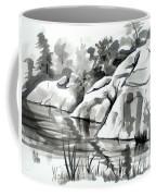 Reflections At Elephant Rocks State Park No I102 Coffee Mug by Kip DeVore