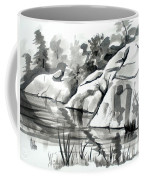Reflections At Elephant Rocks State Park No I102 Coffee Mug