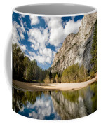 Reflections At Swinging Bridge Coffee Mug