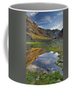 Reflections At The Mountain Lake Coffee Mug