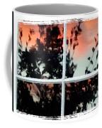 Reflections In An Old Window Coffee Mug