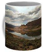 Reflections In Blue Mesa Coffee Mug