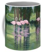 Reflections In Pink Coffee Mug