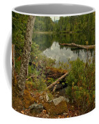 Reflections In Starvation Lake Coffee Mug