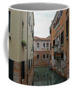 Reflections In Venetian Canal Coffee Mug
