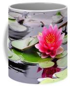 Reflections Of A Pink Waterlily  Coffee Mug