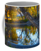 Reflections Of A Pond 2 Coffee Mug