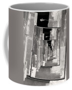 Reflections Of An Infrared Alley Coffee Mug