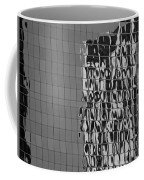 Reflections Of Architecture In Balck And White Coffee Mug