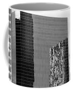 Reflections Of Architecture In Black And White Coffee Mug