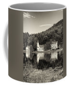 Reflections Of The Day Black And White Coffee Mug
