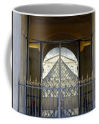 Reflections Of The Musee Du Louvre In Paris France Coffee Mug