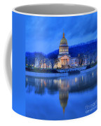 Reflections Of The West Virgina Capitol Building Coffee Mug