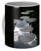 Reflections On A Lily Pond Monet Coffee Mug