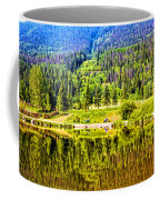 Reflections On A Summer Day - Vail - Colorado Coffee Mug