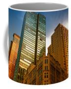 Reflections On Buildings Nyc Coffee Mug