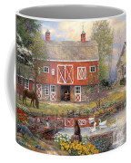 Reflections On Country Living Coffee Mug