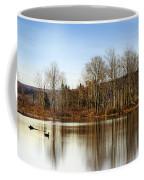 Reflections On Golden Pond Coffee Mug by Christina Rollo