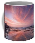 Reflections On North Jetty Dusk Coffee Mug