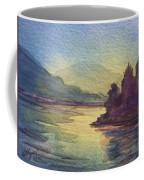 Reflections On North South Lake Coffee Mug