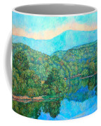 Reflections On The James River Coffee Mug