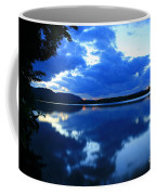 Reflective Blues On Lake Umbagog  Coffee Mug