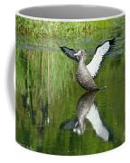 Reflective Loon Coffee Mug