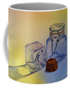Reflective Still Life Jars Coffee Mug by Brenda Brown