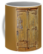 Refrigerated Boxcar Door Coffee Mug