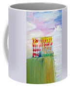 Refuge On The Cliff Coffee Mug