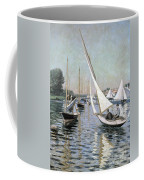 Regatta At Argenteuil Coffee Mug