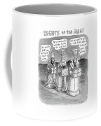 Regifts Of The Magi Features The Three Kings Coffee Mug by Roz Chast