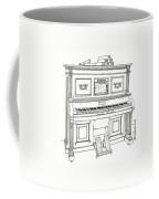 Regina Player Piano Coffee Mug