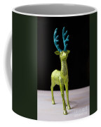 Reindeer Christmas Card Coffee Mug