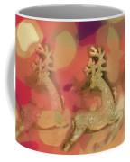 Reindeer On Parade Coffee Mug