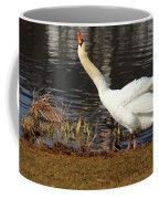 Relaxed Swan Coffee Mug