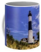 Relaxing By Big Sable Light Coffee Mug