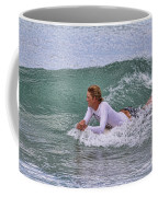 Relaxing In The Surf Coffee Mug