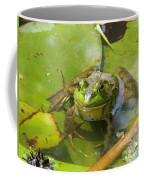 Relaxing On A Lily Pad  Coffee Mug