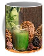Relaxing Spa Candle Coffee Mug