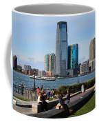 Relaxing Weekend On New York Harbor Coffee Mug