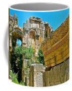 Relief In The Coutyard In Myra-turkey Coffee Mug