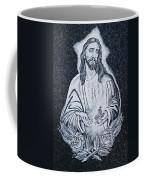 Religious Icons In Spanish Cemetery Coffee Mug