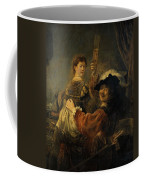 Rembrandt And Saskia In The Parable Of The Prodigal Son Coffee Mug